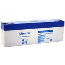 Μπαταρία Μολύβδου Ultracell 12V 2.4Ah